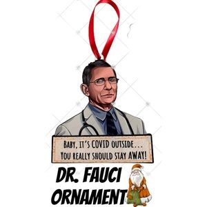 Other - NEW DR. FAUCI CHRISTMAS TREE ORNAMENT